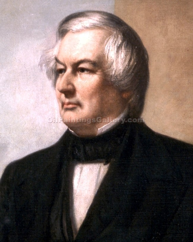 """Millard Fillmore, 13th President, Painted by George Peter Alexander Healy"""