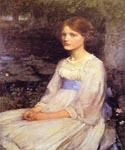 Miss Betty Pollock by  John William Waterhouse (Painting ID: CL-4222-KA)