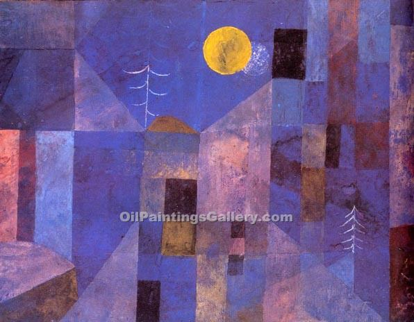 """Moonshine"" by  Paul Klee"