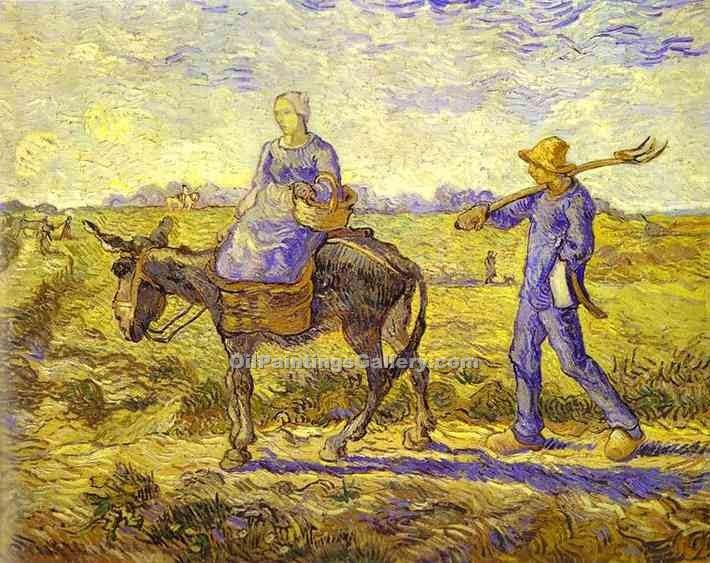 """Morning Leaving for Work"" by  Vincent Van Gogh"