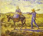 Morning Leaving for Work by  Vincent Van Gogh (Painting ID: VG-0156-KA)