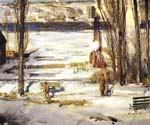 Morning Snow by  George Bellows (Painting ID: GE-2221-KA)