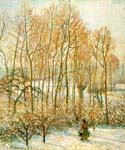 Morning Sunlight on the Snow by  Camille Pissarro (Painting ID: LA-0948-KA)