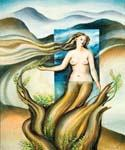 Mother Earth by  Dan Livni (Painting ID: AD-0357-KA)