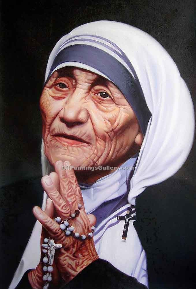 Buy Christ, Religion & Angel Oil Painting Online - Portrait of Famous People