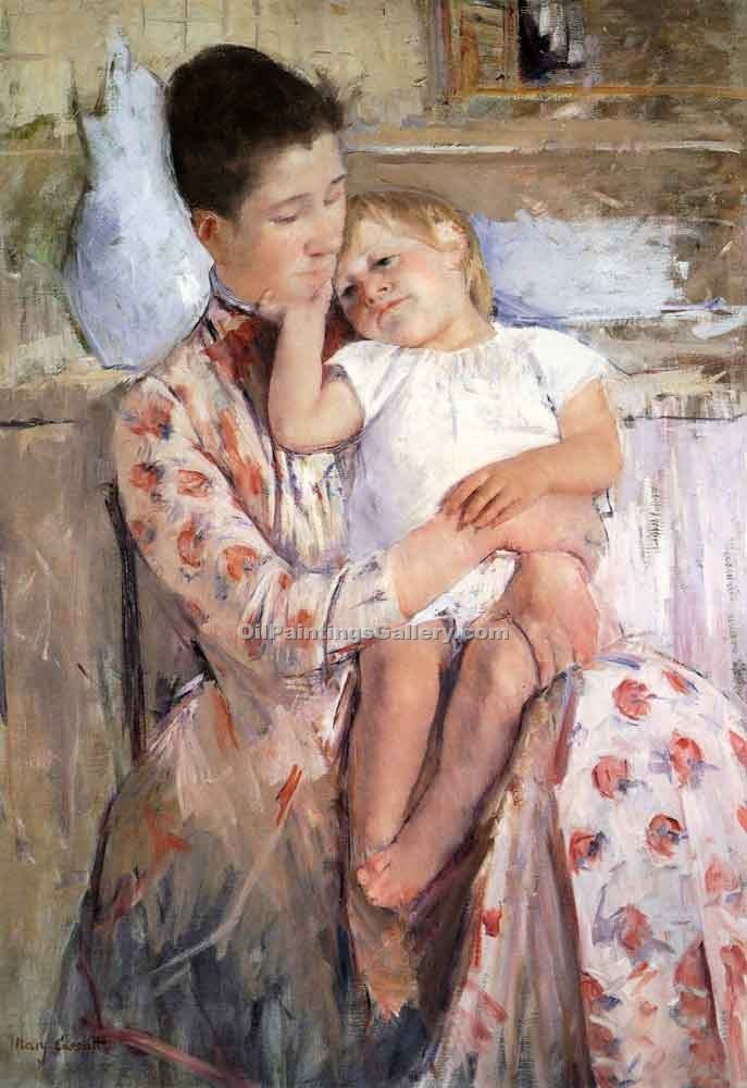 """Mother and Child 07"" by  Mary Cassatt"