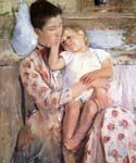 Mother and Child 07 by  Mary Cassatt (Painting ID: EI-0007-KA)