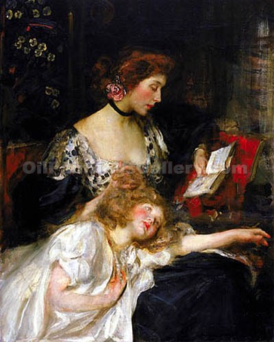 """Mother and Child 46"" by  James Jebusa Shannon"