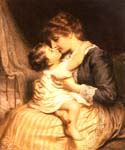 Motherly Love by  Frederick Morgan (Painting ID: CL-4057-KA)