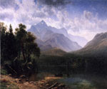 Mount Washington by  Albert Bierstadt (Painting ID: LA-3371-KA)