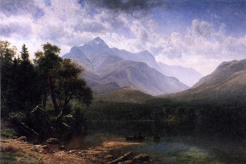 """Mount Washington"" by  Albert Bierstadt"