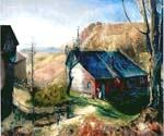 Mountain Farm by  George Bellows (Painting ID: GE-2240-KA)