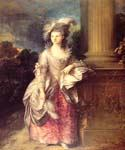 Mrs Graham 1777 by  Thomas Gainsborough (Painting ID: CM-1091-KA)
