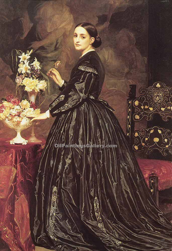 """Mrs James Guthrie"" by   Leighton Frederic"