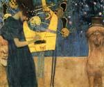 Music 80 by  Gustav Klimt (Painting ID: EI-1880-KA)
