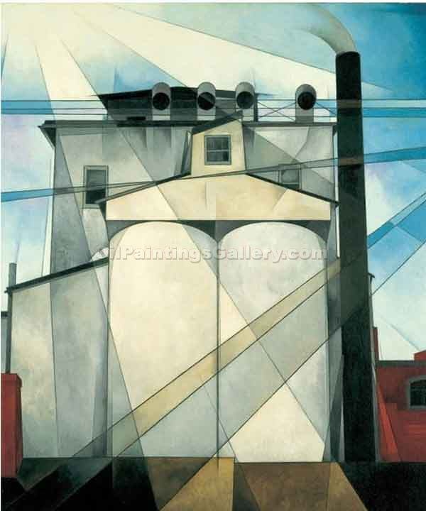 """My Egypt"" by  Charles Demuth"