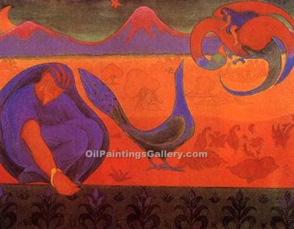 """Nabis Landscape"" by  Paul Ranson"