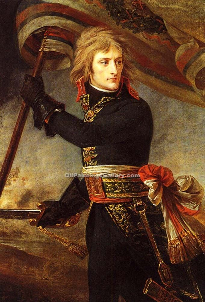 """Napoleon Bonaparte at the Bridge of Arcole"" by  Antoine Jean Gros"