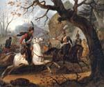 Napoleonic Battle in the Alps by  Horace Vernet (Painting ID: CL-3601-KA)