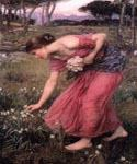 Narcissus 04 by  John William Waterhouse (Painting ID: CL-4204-KA)