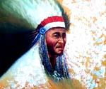 Native American 01 Oil Painting (ID: GE-2101-A)