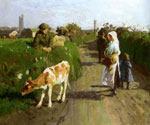 Near Penzance by  Harold Harvey (Painting ID: LA-2709-KA)