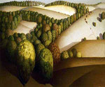 Near Sundown by  Grant Wood (Painting ID: LA-2830-KA)