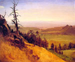Nebraska Wasatch Mountains by  Albert Bierstadt (Painting ID: LA-3379-KA)
