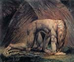 Nebuchadnezzar by  William Blake (Painting ID: AF-0494-KA)