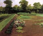 New Hamburg Garden by  James Carroll Beckwith (Painting ID: CI-2118-KA)
