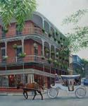 New Orleans Scene Oil Painting (ID: CI-3130-D)