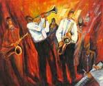 New Orleans Swing 13  (Painting ID: GE-1513-KA)
