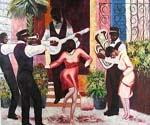 New Orleans Swing 14  (Painting ID: GE-1514-KA)