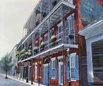 New Orleans The French Quarter 33 Oil Painting (ID: CI-3133-B)
