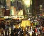 New York 1911 by  George Bellows (Painting ID: GE-2236-KA)