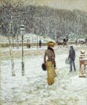 New York Street by  Frederick Childe Hassam (Painting ID: CK-6013-KA)