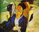 Nirvana, Portrait of Meyer de Haan by  Paul Gauguin (Painting ID: GA-0266-KA)