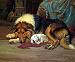 No Walk Today by  Wright Barker (Painting ID: AN-0435-KA)