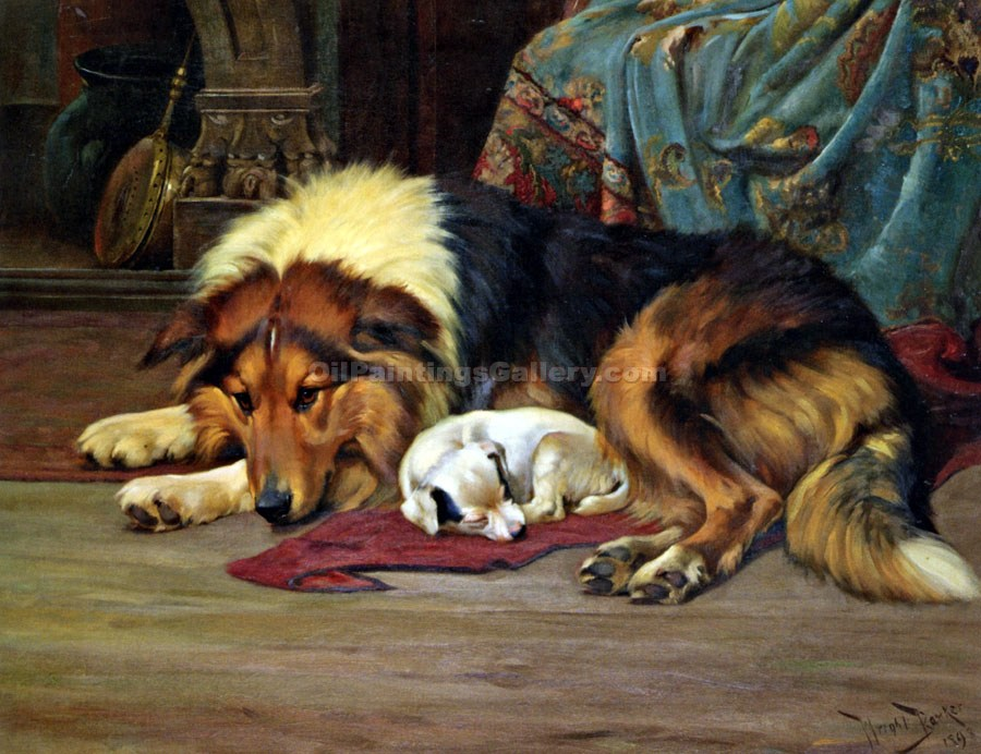 """No Walk Today"" by  Wright Barker"