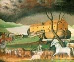 Noahs Ark by  Edward Hicks (Painting ID: AN-1082-KA)