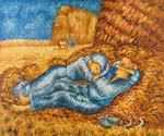 Noon Rest After Millet by  Vincent Van Gogh (Painting ID: VG-0150-KA)