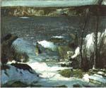North River by  George Bellows (Painting ID: GE-2232-KA)