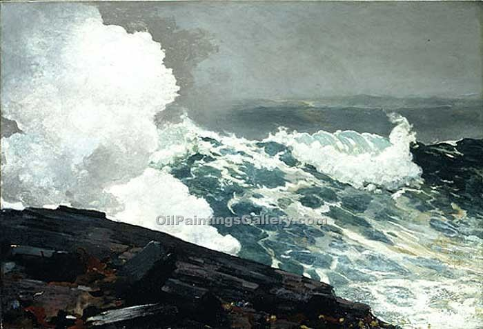 """Northeaster"" by  Winslow Homer"