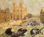 Notre Dame Paris 1914 by  Terrick Williams (Painting ID: CI-0756-KA)