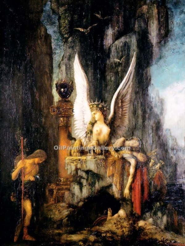 """Oedipus the Wayfarer"" by  Gustave Moreau"