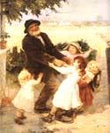 Off to the Fair by  Frederick Morgan (Painting ID: CL-4056-KA)