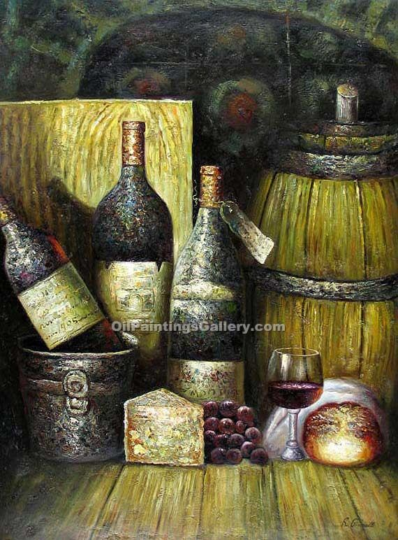 """Old Bottles of Wine"""