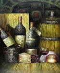 Old Bottles of Wine  (Painting ID: SL-1245-KA)