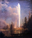 Old Faithful by  Albert Bierstadt (Painting ID: LA-3381-KA)