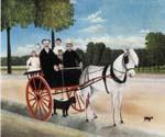 Old Juniere s Cart by  Henri Rousseau (Painting ID: RO-0136-KA)